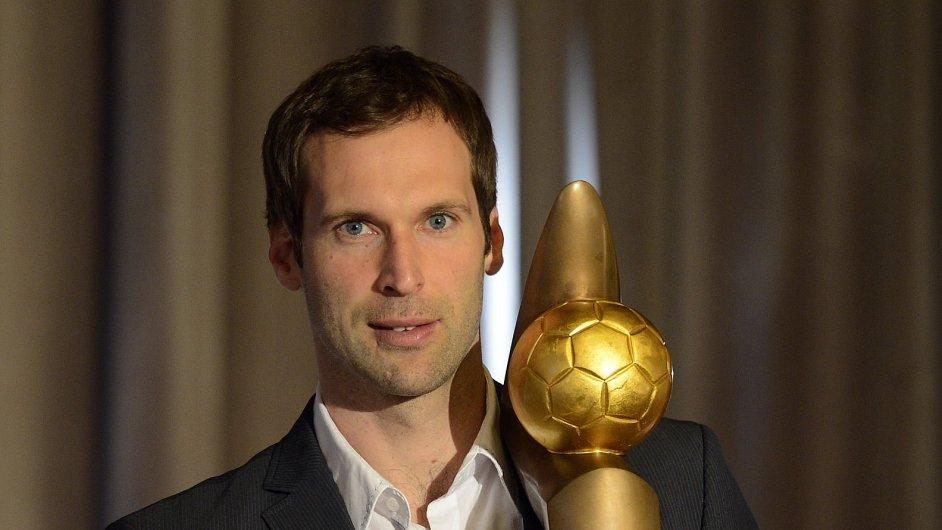 Petr Čech vyhrál poosmé Zlatý míč.