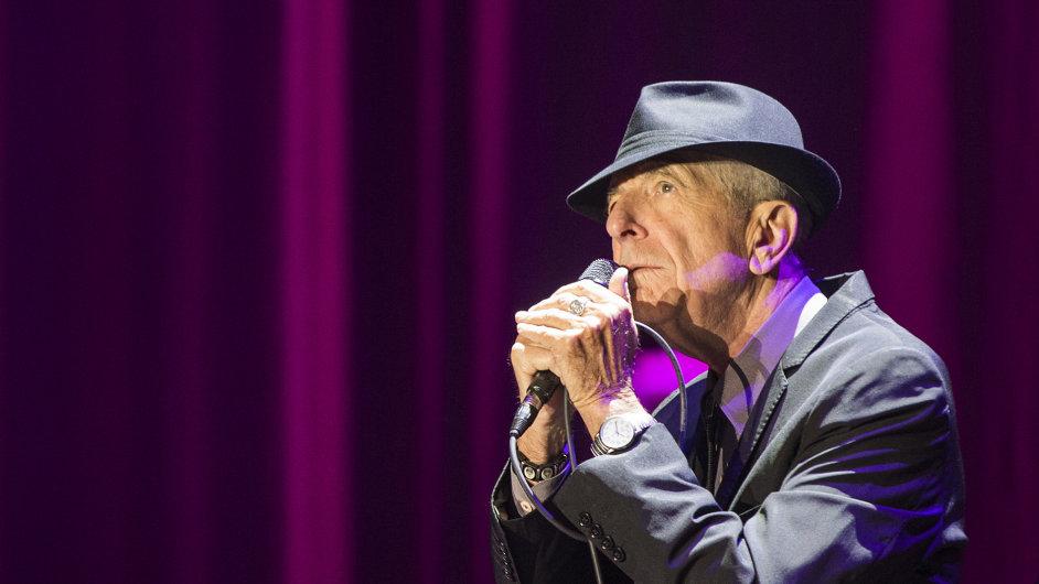 Leonard Cohen v Praze