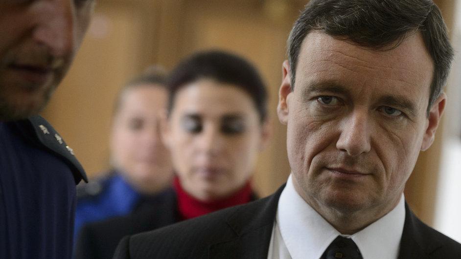 Poslanec David Rath a Kateřina Pancová u soudu