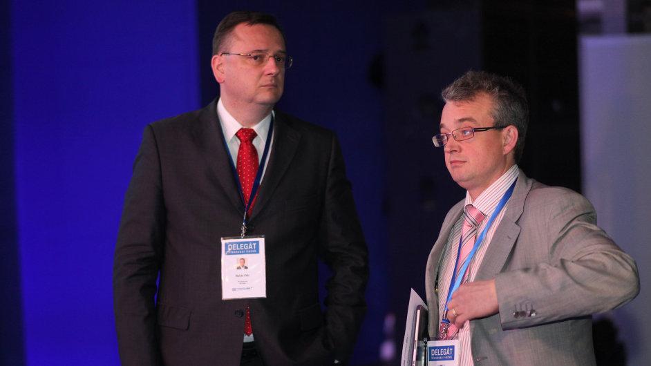Petr Nečas a Marek Benda