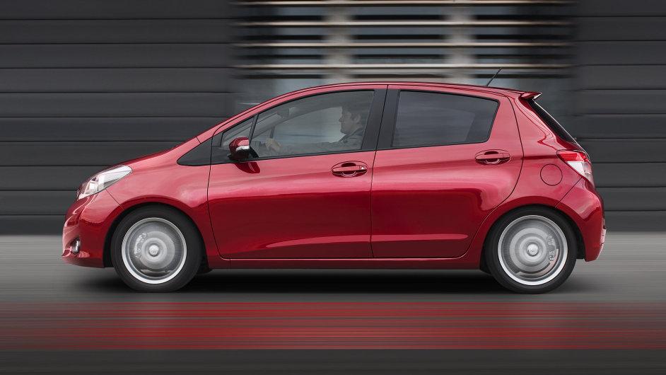 Většina verzí malé Toyoty Yaris zdražila o 15 tisíc.