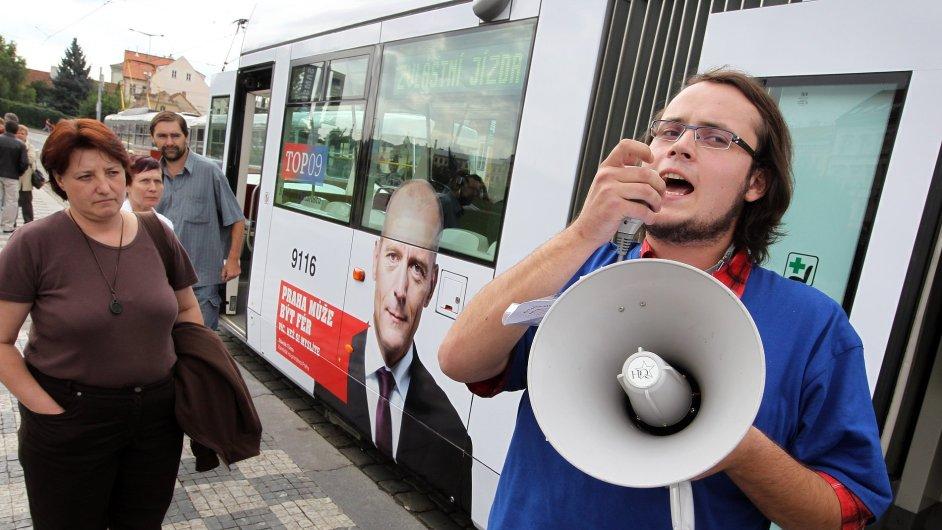 Volební kampaň, ilustrační foto