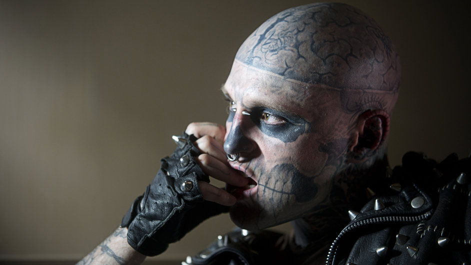 Rick Genest řečený Zombie Boy