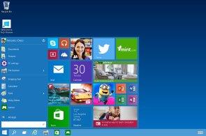 Testovací verze Windows 10 v obrazech: První nové funkce a mírně změněný vzhled