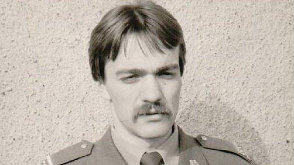 Tomáš Březina, četař absolvent v roce 1982