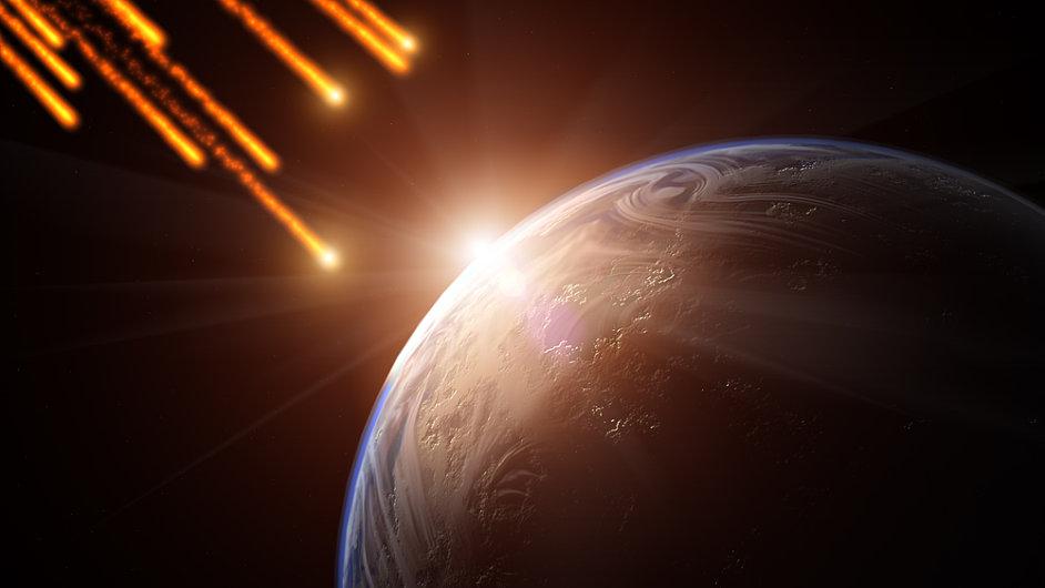 Ilustrační foto - meteority
