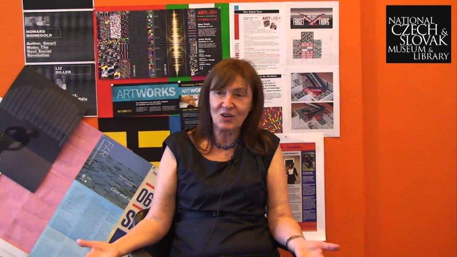 Milena Kalinovská doposud působila v Hirshhornově muzeu ve Washingtonu.