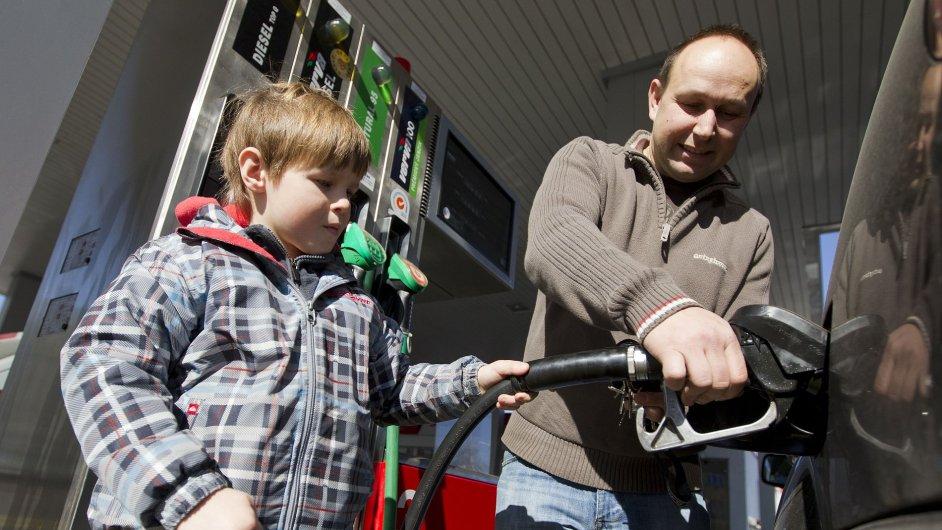 2x paliva v Česku a v Evropě