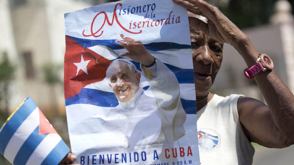 Aktivistky z hnutí Dámy v bílém si od návštěvy papeže na Kubě velké změny neslibují - Ilustrační foto.
