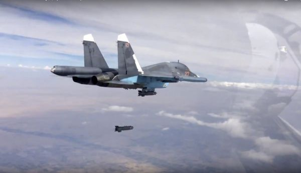 rusko syrie Su-34