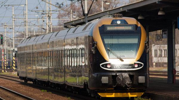 Leo Express v roce 2013 hospodařil se ztrátou 135 milionů korun při tržbách 193 milionů korun - Ilustrační foto.