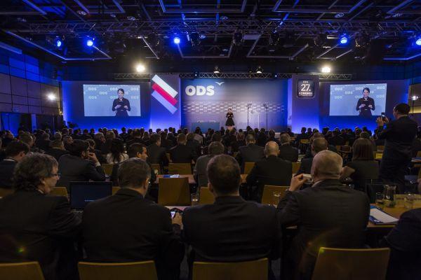 Sjezd ODS v Ostravě