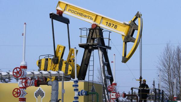 Rosněfť je největší ruská ropná společnost - Ilustrační foto.