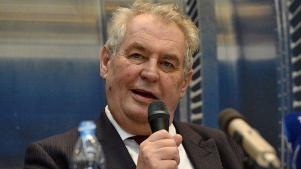 Zeman v rozhovoru pro ��nskou televizi kritizoval minulou vl�du.