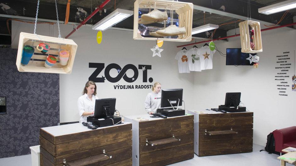 Výdejní místa firmy Zoot