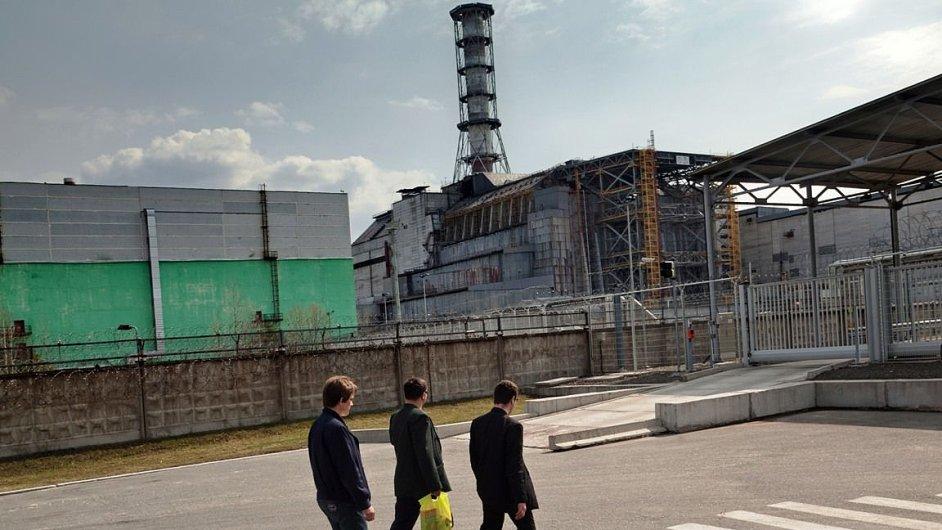 Nový sarkofág v Černobylu