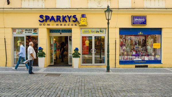 Hračkářství Sparky's