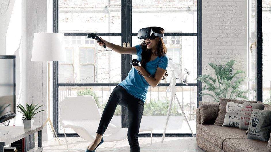 Virtuální realita v podání HTC Vive