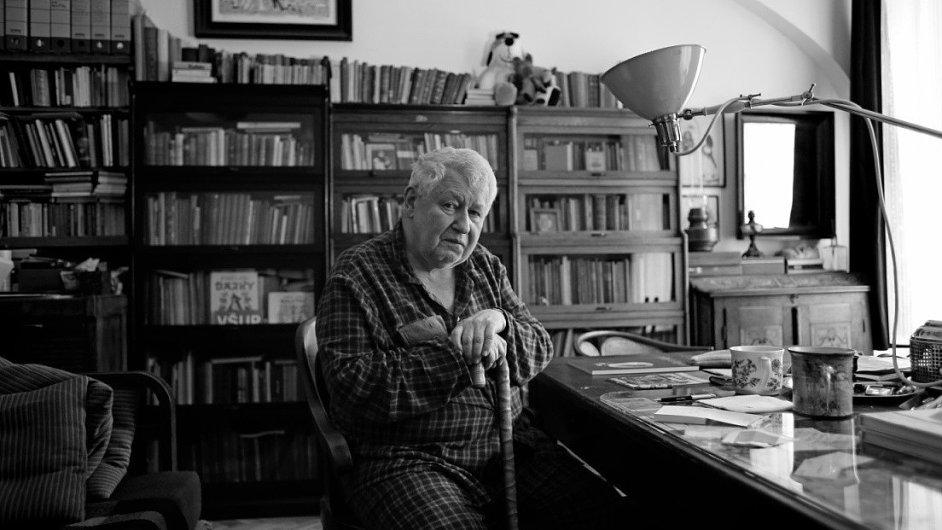 Na přehlídce bude vystavovat i autor Maxipsa Fíka Jiří Šalamoun.