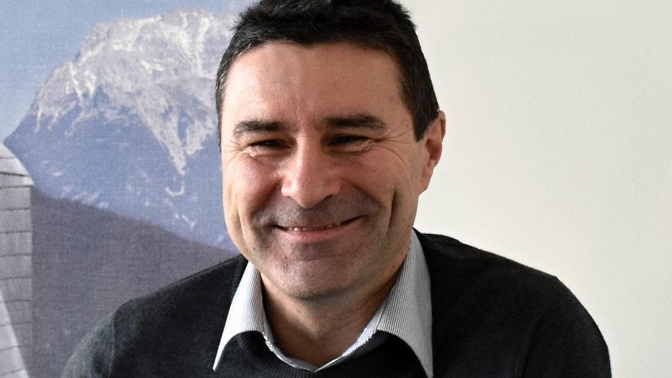 Aleš Slivka, vedoucí prodeje a marketingu společnosti PREFA Aluminiumprodukte