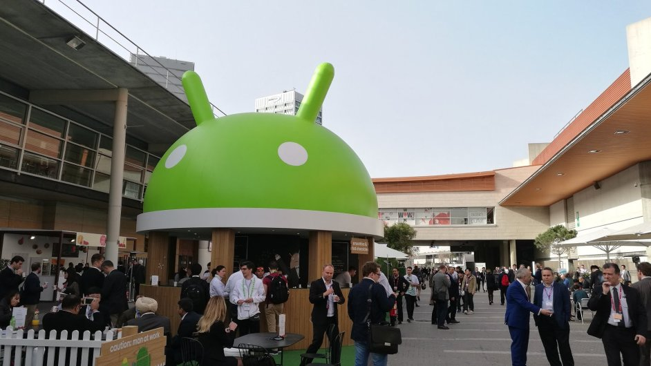 Android na veletrhu Mobile World Congress 2016