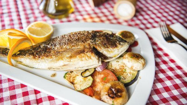 V Nema problema připravují výtečné ryby.