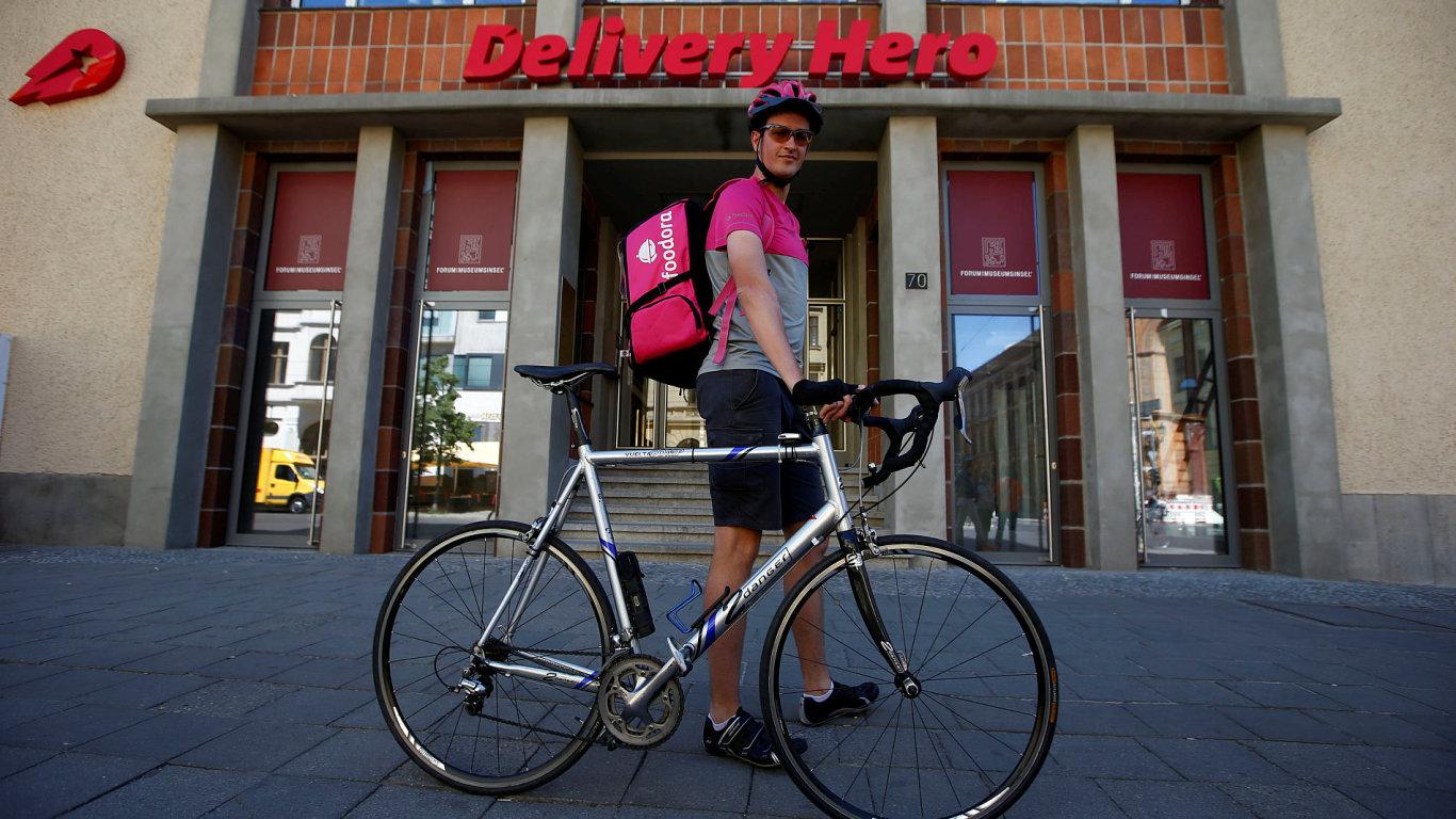 Přední německý rozvozce jídla Delivery Hero vstoupí na burzu