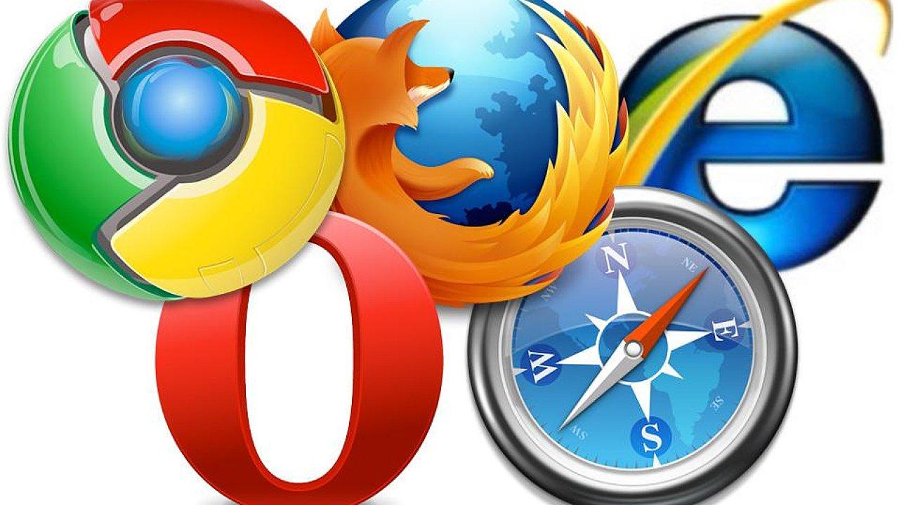 webové prohlížeče (ilustrační obrázek)