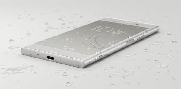 Sony Xperia XZ1 water resistance 01