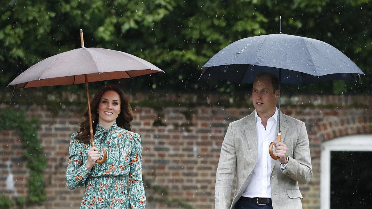 William a Kate čekají již třetího potomka.