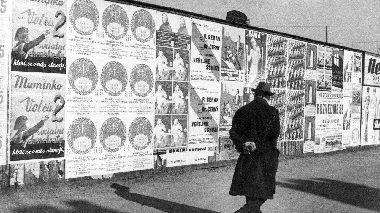 Před volbami v roce 1935