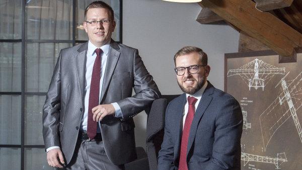 Václav Kmínek, Ondřej Koňák, portfolio manažeři fondů Arca Opportunity, Redside Fund Management