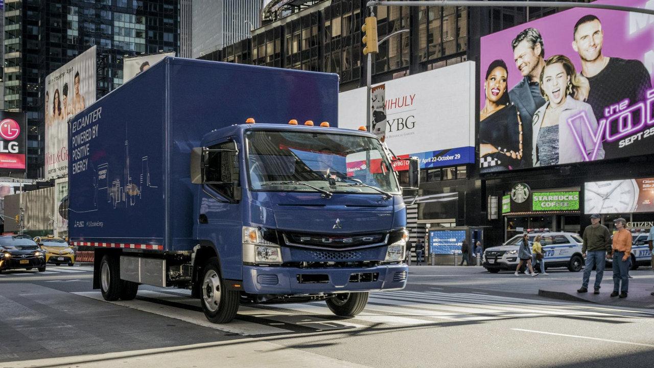 Elektrické náklaďáky se zatím prodávají hlavně díky dotacím a daňovým úlevám.