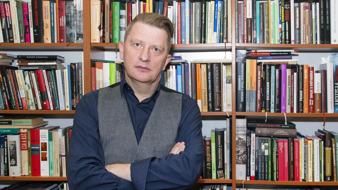 Ředitel nakladatelství Academia Jiří Padevět