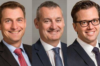 Josef Krautman, Michal Naskos a David Nath se stali partnery společnosti Cushman & Wakefield