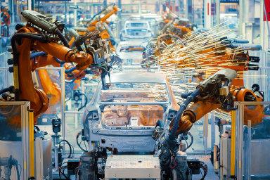 Nejvíce k růstu průmyslu přispěla výroba motorových vozidel.