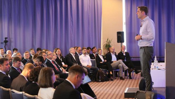 Na odborné realitní konferenci Prague Property Forum 2018.