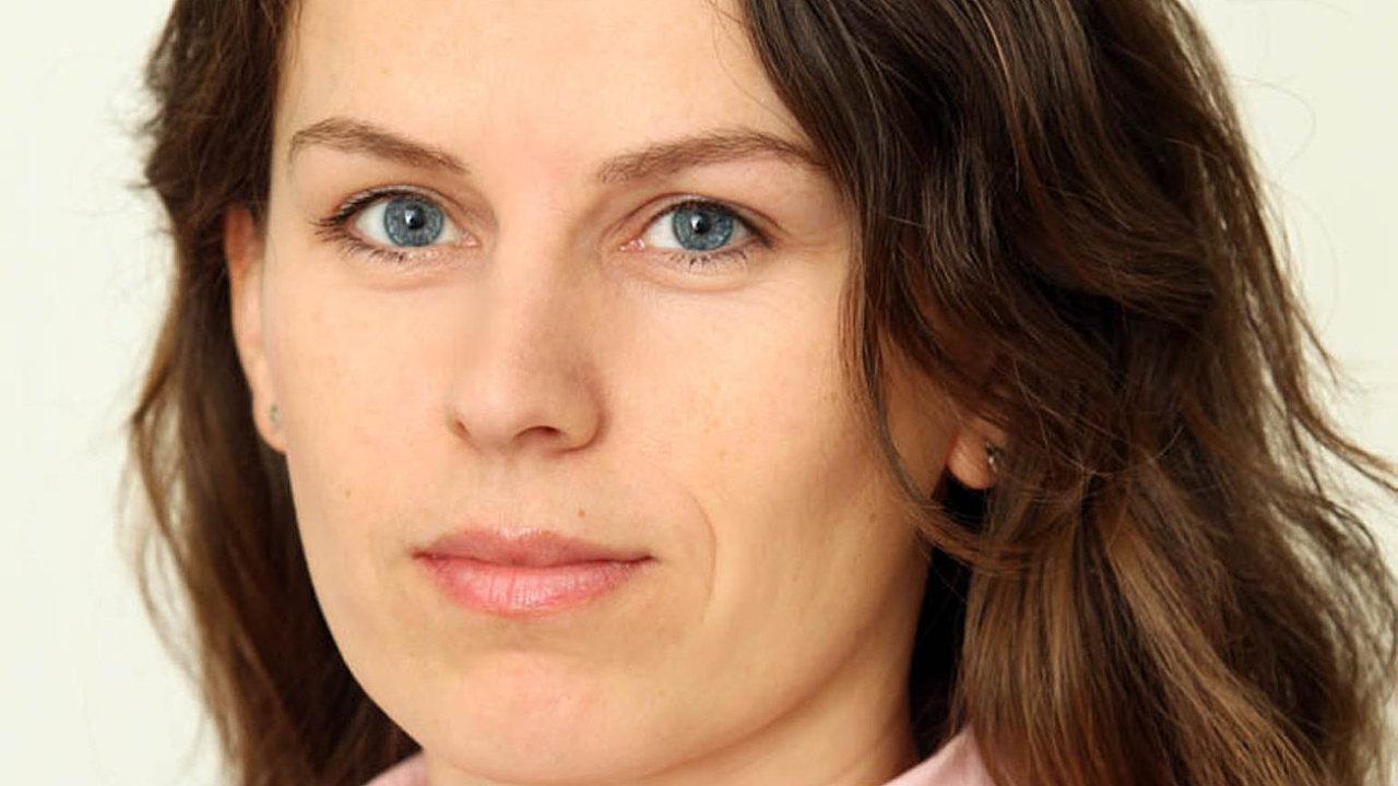 Martina Marečková, redaktorka Hospodářských novin