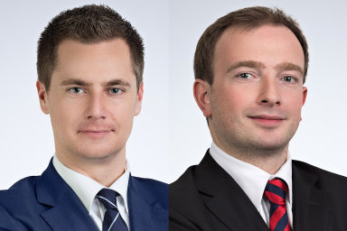 Ondřej Florián a Štěpán Štarha, partnery advokátní kanceláře HAVEL & PARTNERS
