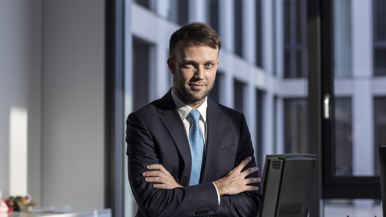 Tomáš Pfeiler, portfolio manažer společnosti Cyrrus