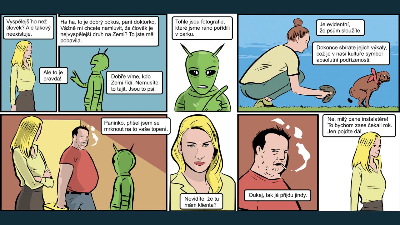 Steh porno komiksy