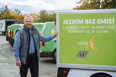 """Všechny start-upy Tomáše Čupra naKeboole """"jely"""" avyužívaly ji nadatovou architekturu. Firma Rohlík.cz není výjimkou."""