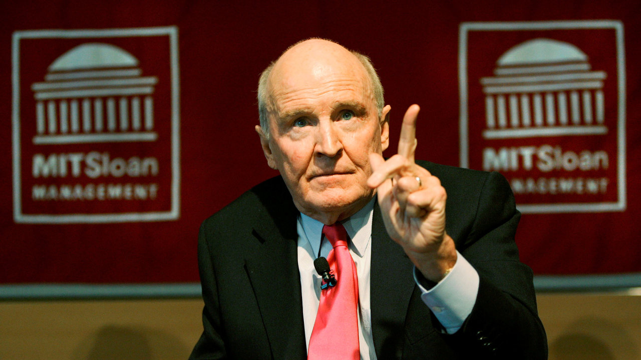 Jack Welch se dožil 84 let.
