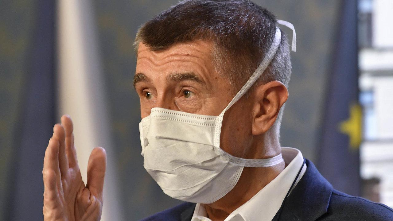 """Premiér Andrej Babiš naznačil, že se nouzový stav může znovu prodloužit: """"Situace je vážná anemůžu vám slíbit, že tu dnes stojím se svojí žádostí naposledy."""""""