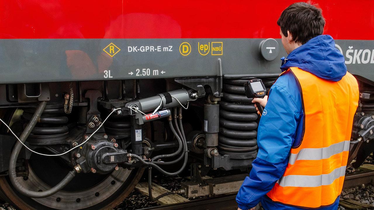 Tlumicí systém zdokonalený vědci z VUT Brno už byl ozkoušen nalokomotivách firmy Škoda Transportation natestovací trati vNěmecku.