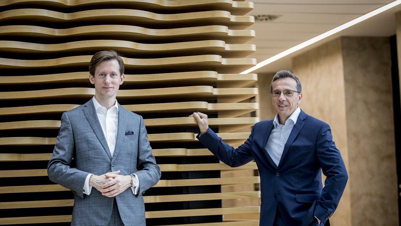 Radim Baše a Michal Blecha, finanční poradci společnosti Deloitte.