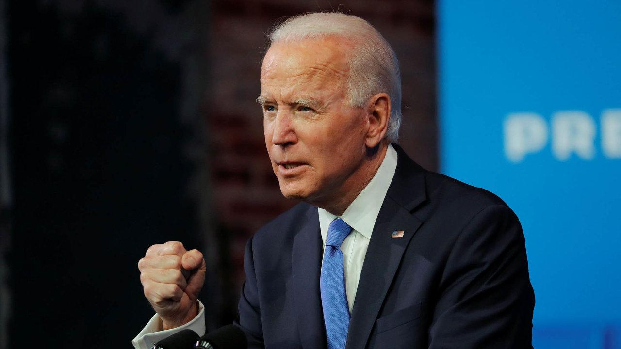 Joe Biden se stane 46. americkým prezidentem.