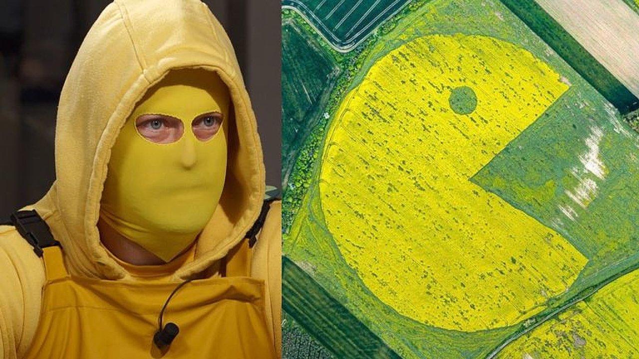 Babiš je Pac-Man, co všechno vyžírá. Poli Agrofertu jsme pomohli, říká člen Ztohoven