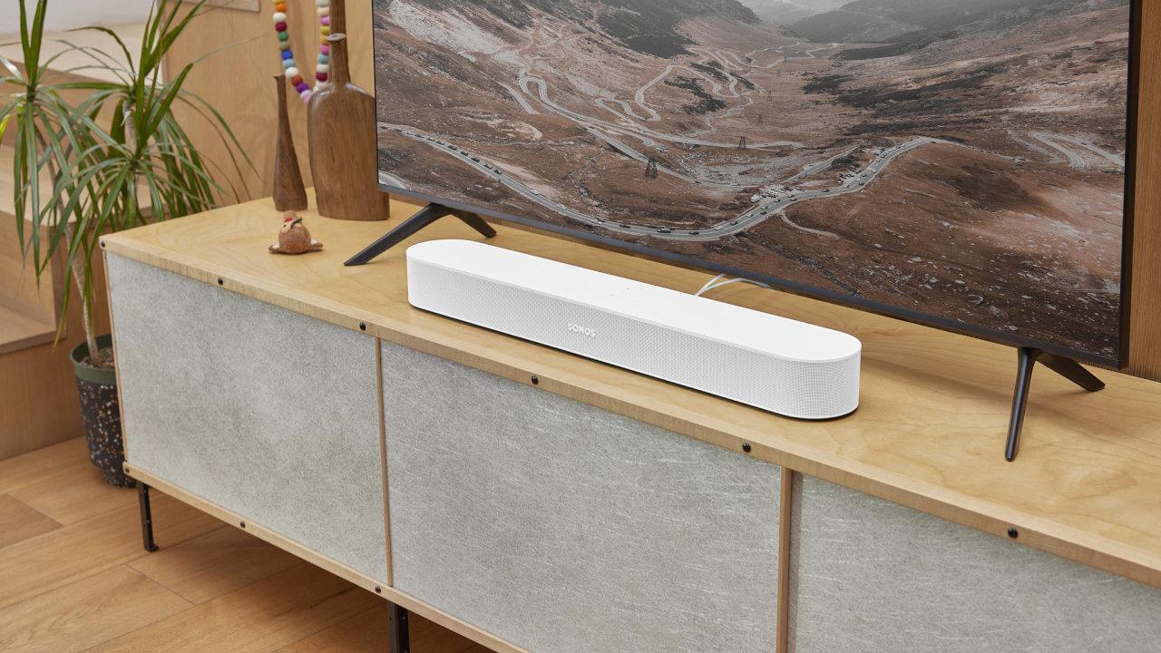 Sonos Beam druhé generace je o trochu elegantnější, modernější a dražší