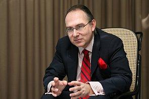 Lubor Žalman, generální ředitel Raiffeisenbank.